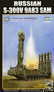Trumpeter 135 S300v 9a83 Surface-to-air Sam Missile Launcher Plastic Model...