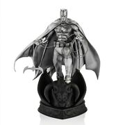 Limited Edition 9 Pewter Batman Statue Dc Comics Figurine Figure For Him Gift