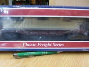 Williams 47552 Prr Flat With Crate Load Nos Sealed Box