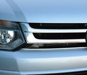Chrome Front Grille Accent Trim Covers To Fit Volkswagen T5 Transporter 10-15