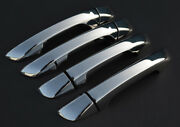 Chrome Door Handle Trim Set Covers To Fit Seat 2010