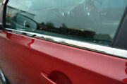 Chrome Side Door Window Sill Trim Set Covers To Fit Nissan Qashqai 2006-14