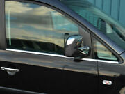 Chrome Side Door Window Sill Trim Set Covers To Fit Volkswagen Caddy 2004-15