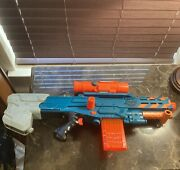 Nerf Zombie Strike Long Shot Bundle Comes With Elite Bullets And Handle 4 Free