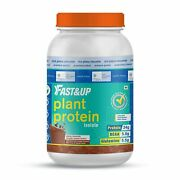 Fastandup Plant Protein-plant Based-vegan-34 G Plant Protein-post Workout- 30serve