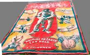 Sideshow Banner Circus Hanging Canvas Sign Prop Escape Artist 14and039 X 10and039