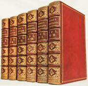 1835 Portraits Of Illustrious Personages Of Great Britain Leather Illustrated Lg