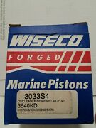 3033s4 Wiseco .040 Starboard Piston For Omc Eagle Series With 3.640 Bore Free