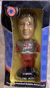 Nascar 2001 Sterling Marlin Bobblehead. Hand Painted. Coors Light. F5