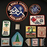 Vintage Boys Scouts Patches And Belt Buckle By Hickok Usa Upgraded