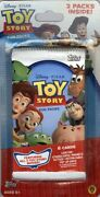 Topps Toy Story Trading Cards 2 Pack Blister 100 Pack Lot Blowout Cards