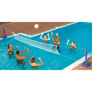 Cross Inground Swimming Pool Fun Volleyball Net Game Water Sets 2-pack