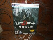 Left 4 Dead - Chinese Big Box Edition Pc New And Sealed