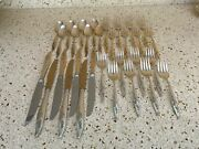 Young Lover Heirloom Oneida Sterling Silver Lot Of 31 Pieces