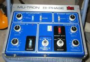 Mutron Biphase Mutron Dual Footswitch All Works And Mutron Box. No C100 Pedal