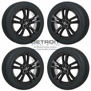 18 Nissan Altima Gloss Black Wheels Rims And Tires Oem Set 4 2013-2018 62594