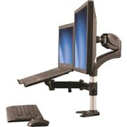Startech Single-monitor Arm Laptop Stand W/ One-touch Height Adjustment