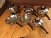 West Bend Kitchen Craft Stainless Steel 11-piece Cookware Set Free Shipping