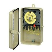 T100 Series Mechanical Time Switch In Metal Enclosure Pool And Spa Control,