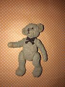 Rare Vintage Porcelain Collectible Russ Berrie Radcliffe Bear Fully Jointed