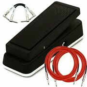 Dunlop Jh1d Cry Baby Jimi Hendrix Signature Wah Analog Guitar Effect Pedal + Ca