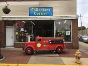 12 Ft Metal Fire Truck Display Life Like. No Shipping