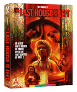 Last House On The Left Blu-ray Box Set, 2018 Poster+cards Wes Craven Arrow