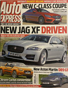 Auto Express Magazine.19th - 25th August 2015 Issue 1834 New Jag Xf