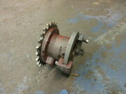 New Britain Model 61 Sprocket Hub And Cam Disc Auxiliary Cam Drum And Chain