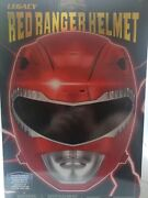 Red Power Ranger Helmet Legacy Bandai Cosplay Rare New Collectible