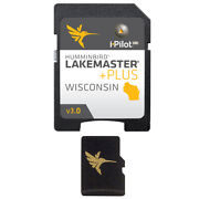 Lakemaster Plus Wisconsin Version 3 Micro Map Card With Sd Adapter 600025-8