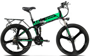 Electric Shimano Mountain Bike Bicycle 26inch 400w 36v Aluminum Fold Ebike