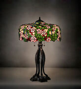 Style Table Lamp For Living Room W Cherry Blossom Lamp Shade