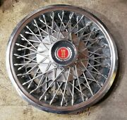 Vintage 1977-80 Ford Pinto Mercury Bobcat 13 Wire Spoke Hubcap Wheel Cover 0a