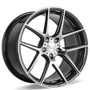 4 20 Ace Alloy Wheels Aff02 Grey With Machined Face Rimsb42