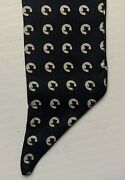 1970s - 1980s The Chessie System Employee Black Bow Tie, Italy, Chessie The Cat