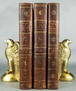 Rare 1793 1sted History Of The West Indies Foldout Maps Illustrated Leather