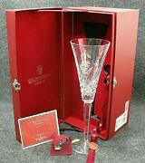 Waterford Crystal 12 Days Of Christmas Flute - 7 Swans A Swimming