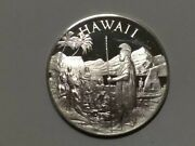 Hawaii Sterling Silver 1oz Coin