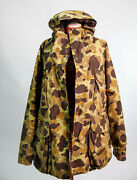 waterproof Vintage Cabala's Hunting Parka Camouflage Gore-tex L