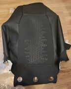 Land Rover Discovery Sport L550 Oem Front Leather/suede Black Seat Back Cover