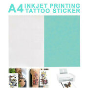 A4 Temporary Tattoo Diy Printing Paper Transfer Decal Papers For Inkjet Printer