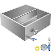 Sap Evaporator 2'x2' Maple Syrup Pan Flow Divided W/valves Preheater Pan Outdoor