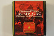 Royal Canadian Mint Mounted Police Commemorative 925 Silver Dollar Num5556
