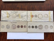 Canada Proof Coin Set Original Cardboard Sleeve By Rcm 1958195919601960 4 Pac