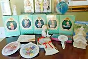 Precious Moments Ornaments Lot Of 17 Boxes Excellent Holiday Expressions Annual