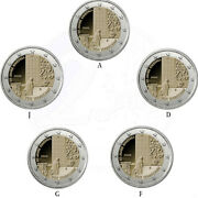 Germany 5 X Commemorative Coins 2020 St 50 Years Kniefall From Warsaw Loose