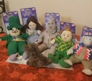 The Wizard Of Oz Plush Dolls Lot Of 6 Sugarloaf