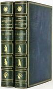 1901 Amusements Of Old London Leather Bound By Asprey Illustrated Color Plates
