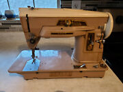Vintage Singer Slant-o-matic 403a Sewing Machine Untested / For Parts